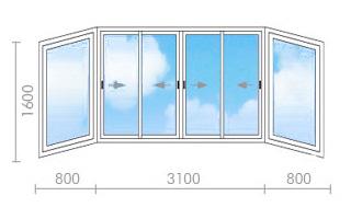 Цена на остекление балконов в ii-18 - окна строй.