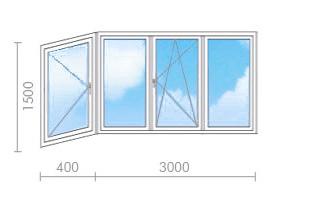 Цена на остекление балкона в ii-49 - окна строй.