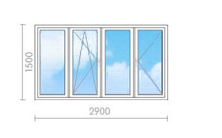 Цена на остекление балконов (лоджий) в ii-57 - окна строй.