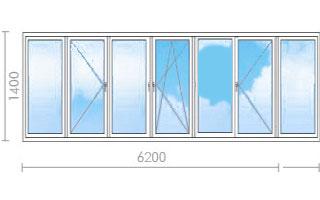 Цена на остекление лоджий (балконов) в ii-68 - окна строй.