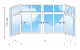 Цена на остекление балкона в сталинке - окна строй.