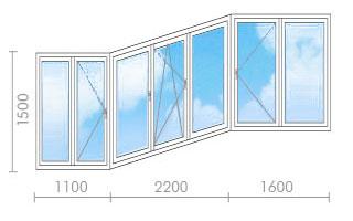 Цена на остекление балконов (лоджий) в п-3 - окна строй.