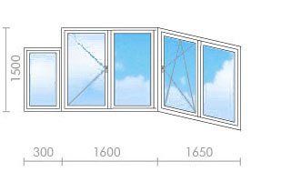 Цена на остекление балкона (лоджии) в п-3м - окна строй.