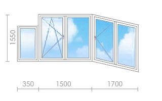 Цена на остекление балкона (лоджии) в п-44 - окна строй.