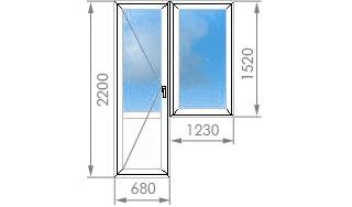 Цены на пластиковые окна в и-209а.