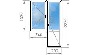 Окна квартал размеры окон в домах серии ii-49.