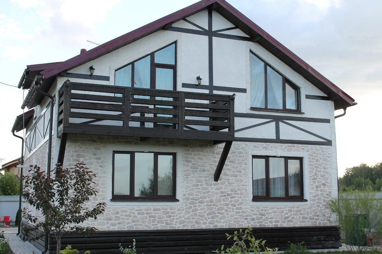 Остекление загородных домов - галерея работ - окна строй.