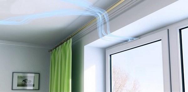Как почистить приточный вентиляционный клапан