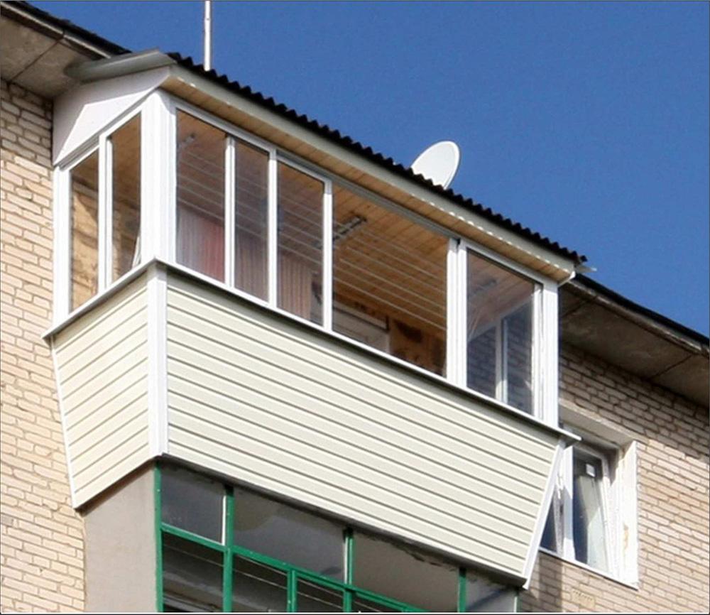 Крыша балкона: как сделать, установить и застеклить балконну.