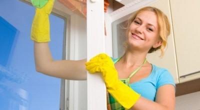 Как правильно мыть окна ПВХ